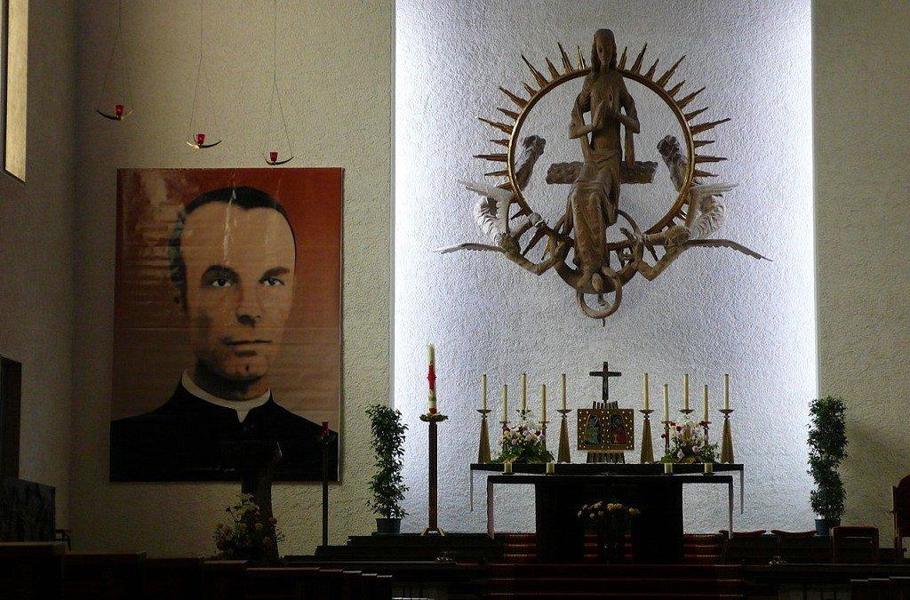 La Iglesia celebra al mártir Santiago Gapp, al que la Gestapo localizó en Valencia