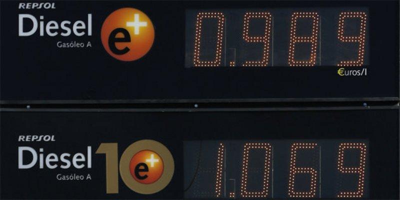 La imagen curiosa que captó un conductor en una gasolinera de Extremadura
