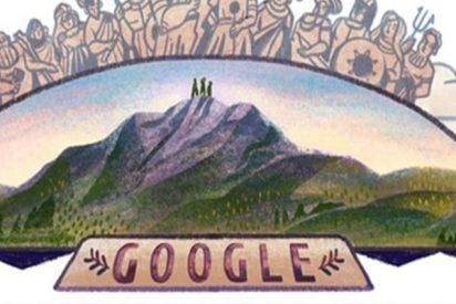 Google hace un homenaje a los tres valientes que se atrevieron a escalar el Monte Olimpo