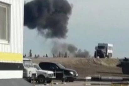 Este helicóptero se estrella en Siberia matando a las 18 personas que viajaban a bordo