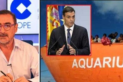 """Herrera llama """"bocachancla"""" a Carmen Calvo y acribilla a Pedro Sánchez por hacer el """"giliprogre"""" con la política migratoria"""