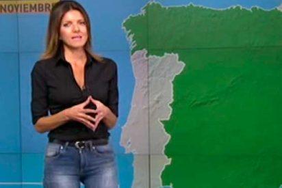 Himar González, presentadora de 'Tu Tiempo' en A3, se recupera de un grave accidente de tráfico
