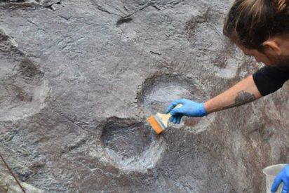 Descubren en esta cantera de Inglaterra unas huellas de dinosaurio de hace 140 millones de años