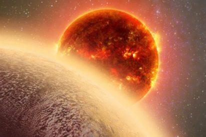 El cazador de exoplanetas de la NASA se exhibe con un cometa