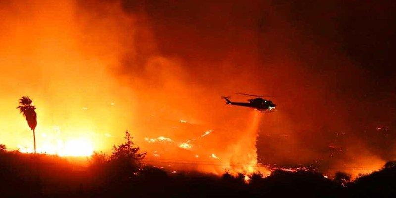 Incendios en California ya alcanzan el tamaño de la ciudad de Los Angeles
