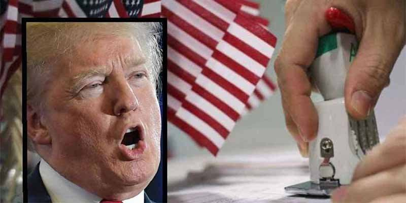 Donald Trump cambia las 100 preguntas del examen para ser ciudadano de EEUU