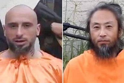 Los decapitadores del ISIS exhiben a un periodista japonés y un ciudadano italiano que imploran por ayuda