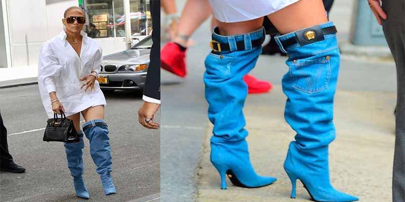 Jennifer López sale a la calle sin pantalones... y enloquece a sus fans