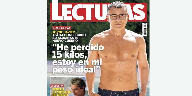 Las redes se descojonan del posado de Jorge Javier en bañador con '15 kilos de grasa menos' y 10 kilos de photoshop más