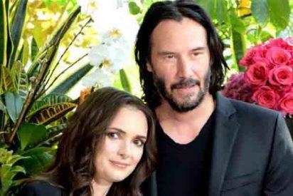 Hollywood: Winona Ryder revela que está casada con Keanu Reeves desde 1993