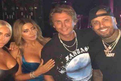 La foto de Kim Kardashian y Nicky Jam de fiesta en Miami que calienta las redes sociales