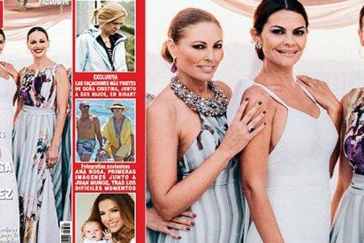 La boda de María José Suárez, las vacaciones más tristes de la infanta Cristina y las de Ana Rosa y Juan Muñoz