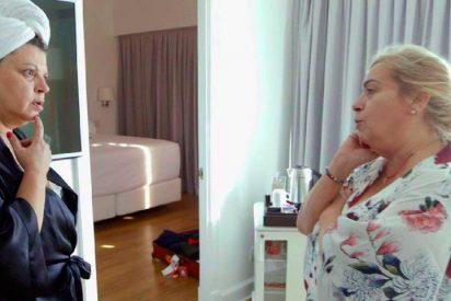 La hija de Bigote Arrocet veta a Terelu y Carmen en su comida con Mª Teresa Campos