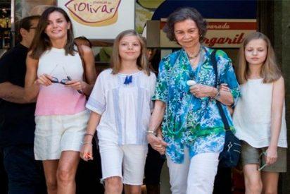 Leonor, Sofía y las Reinas, muy a la moda