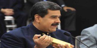 """El tirano Nicolás Maduro quiere vender """"lingoticos"""" de oro a los venezolanos para que ahorren"""