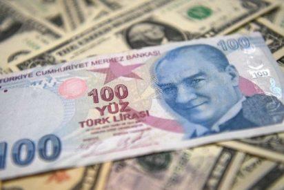 La lira turca se desploma más del 3%