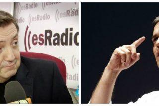 El ataque de Pedro Sánchez a los taxistas... y a Jiménez Losantos incendia las redes
