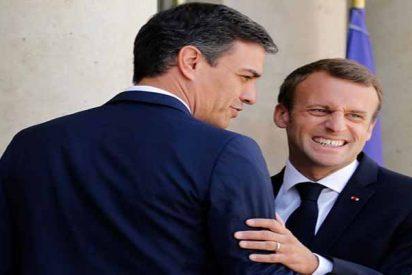 El francés Macron sacude un buen 'zasca' al socialista Sánchez y le deja en evidencia ante toda Europa