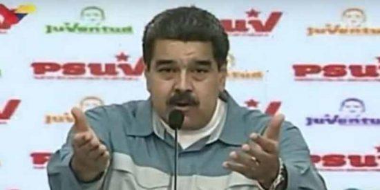 """El dictador Nicolás Maduro califica de """"esclavos y mendigos"""" a los venezolanos de la diáspora"""