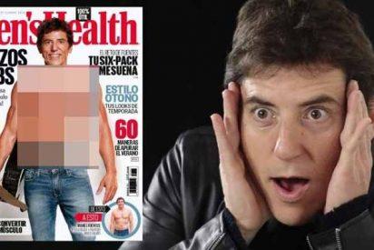 Manel Fuentes se desnuda para 'Men's Health' y supera el reto del 'six-pack'