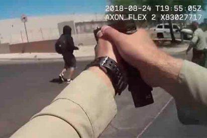 Video: Un maniático apuñala a dos mujeres y cae abatido por la policia de Las Vegas