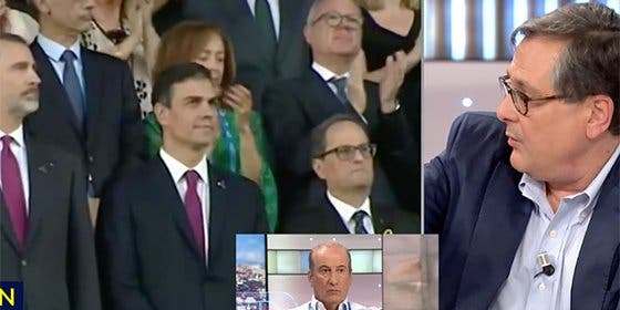 Marhuenda encuentra el mote con el que Pedro Sánchez debería pasar a la historia: 'El profanador de tumbas'