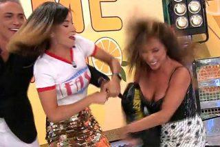 María Patiño se vuelve 'loca' al enterarse que Nuria Marín va a presentar 'Sálvame'