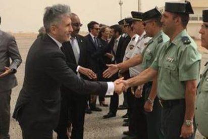 La Guardia Civil chamusca al flamante ministro Marlaska por sus tres desplantes a los agentes