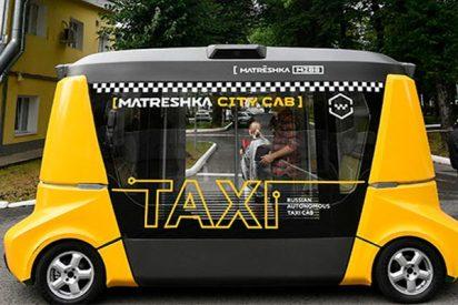 Así es el primer autobús autónomo ruso