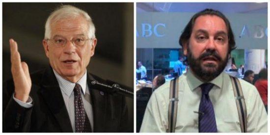 ¡Vaya hostia en casa propia! Borrell le pega una buena colleja a Pérez-Maura por su 'manipulación diplomática'