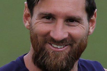 El sorprendente caño de Messi a un periodista que lo peta en las redes