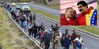 """El dictador Maduro tiene la desvergüenza de pedir a quienes huyen del hambre en Venezuela que """"dejen de lavar retretes"""" y regresen"""