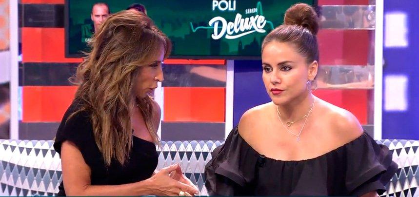 """Mónica Hoyos amenazada antes de comenzar su entrevista en 'Sábado Deluxe"""""""