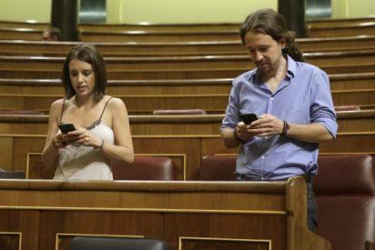 Pablo Iglesias y Montero cobran 12.000 euros al mes sin trabajar desde junio y hunden Podemos