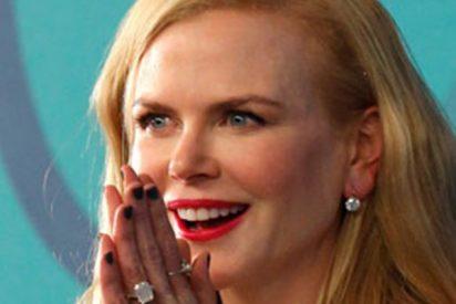 Así atrapa Nicole Kidman a una enorme tarántula mientras sus hijos gritan asustados
