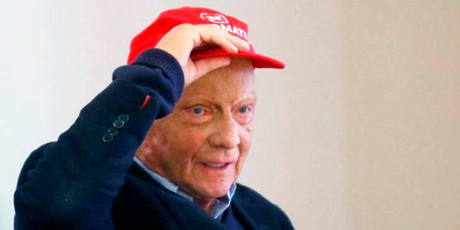 Niki Lauda en estado crítico tras someterse a un trasplante de pulmón