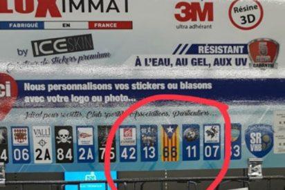 ¿Sabías que Norauto apoya a los separatistas vendiendo en Francia banderines con la estelada?