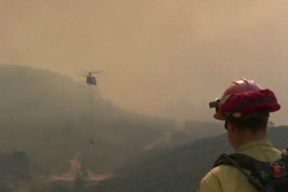 Nuevas evacuaciones por los incendios forestales activos en California