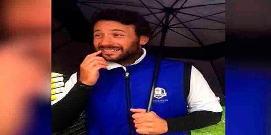 Un golfista separatista quita la bandera española y se pone la estelada en un campeonato en Escocia