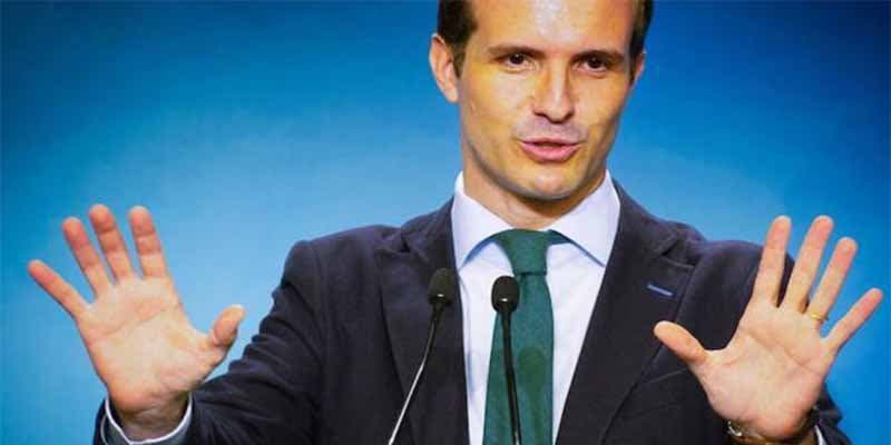 """Pablo Casado: """"Me insultaron y ahora se ve la incoherencia de Pedro Sánchez y su cinismo con los inmigrantes"""""""
