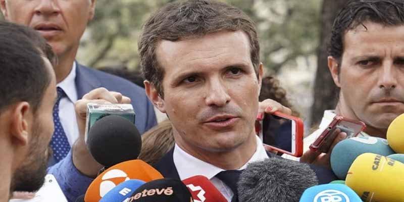 """Pablo Casado: """"Pedro Sánchez trata de entretenernos con Franco para ocultar su incapacidad de gobernar"""""""