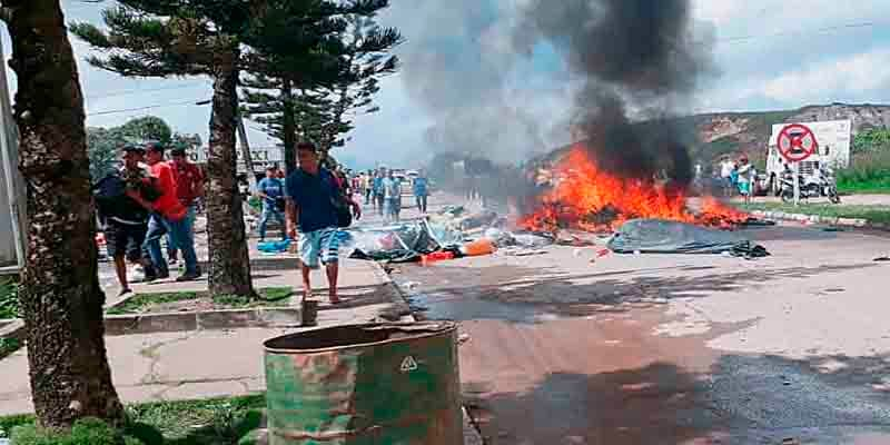 Tensión en la frontera con Brasil: En Pacaraima atacan a inmigrantes venezolanos