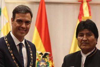 Pedro Sánchez propone desde Bolivia que el Valle de los Caídos sea sólo un cementerio civil