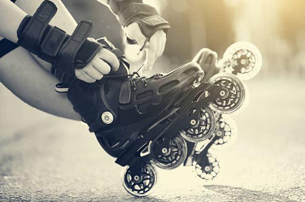 las ruedas de los patines