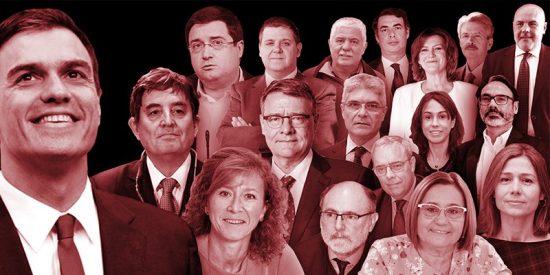 'La ejemplaridad de Pedro': el socialista Sánchez ha enchufado ya a 500 amigos en la empresa pública