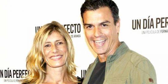 La mujer de Sánchez ha sido 'enchufada' en el IE presentando como licenciatura un título no oficial