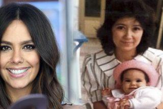 Cristina Pedroche felicita a su madre con esta tierna foto de su infancia