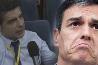 La pregunta que dejó pasmado y en silencio durante 11 segundos a Pedro Sánchez
