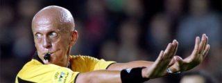 El italiano Pierluigi Collina dimite como jefe de los árbitros de la UEFA