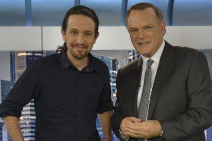 La reunión 'secreta' entre Pedro Piqueras y Pablo Iglesias entrega Telecinco a Podemos